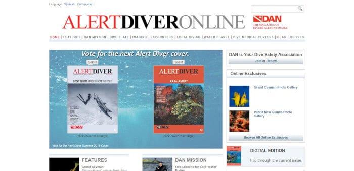 Alert Diver Online