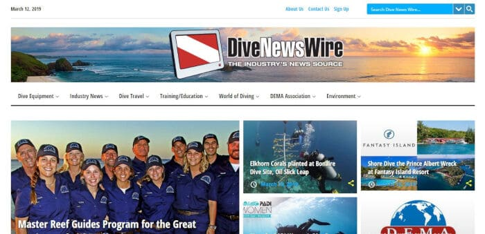 Dive News Wire