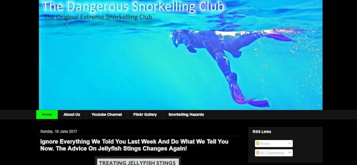 The Dangerous Snorkelling Club
