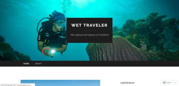 Wet Traveler